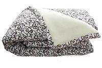 Одеяло двуспальное шерстяное Лери Макс бежевое
