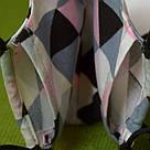 Маска з кишенькою для фільтра двошарова захисна багаторазова бавовняна . Жіноча, фото 2