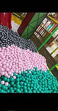 М'ячики для сухого басейну 8 см 100шт м'ягкі