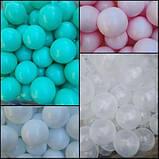 Кульки для сухого басейну 8 см 100шт м'які, фото 5