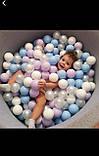 Кульки для сухого басейну 8 см 100шт м'які, фото 3