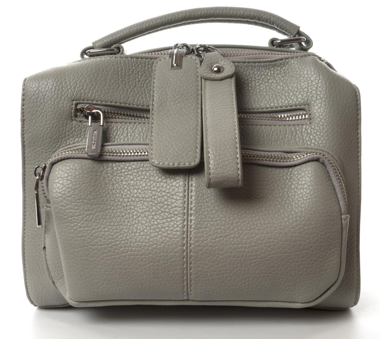 Аккуратная прочная женская сумочка с очень качественного заменителя WEILIYA art. F9061