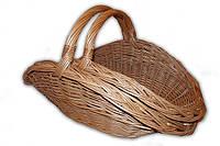 Корзина плетеная для камина