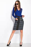 Платье женское 120P069 (Светло-синий)