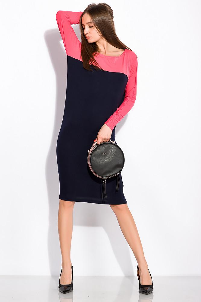 Платье женское 120P079 (Чернильно-розовый)