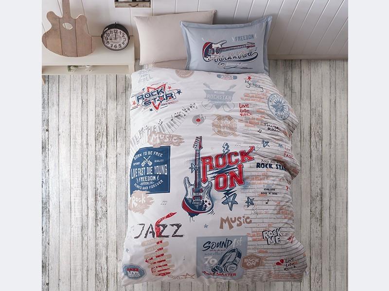 Подростковое постельное белье Aran Clasy RockStar 160x220 SKL53-239715