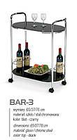 Сервировочный столик BAR-3