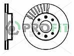 Гальмівний диск RENAULT KANGOO 97-08, RENAULT MEGANE 96-03, RENAULT SYMBOL 01-09
