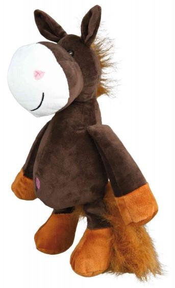 Іграшка для собак trixie кінь плюшева 32 см