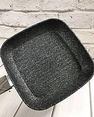 """Сковорода """"Wooden"""" квадратная индукционное дно 24*4см 10299, фото 2"""