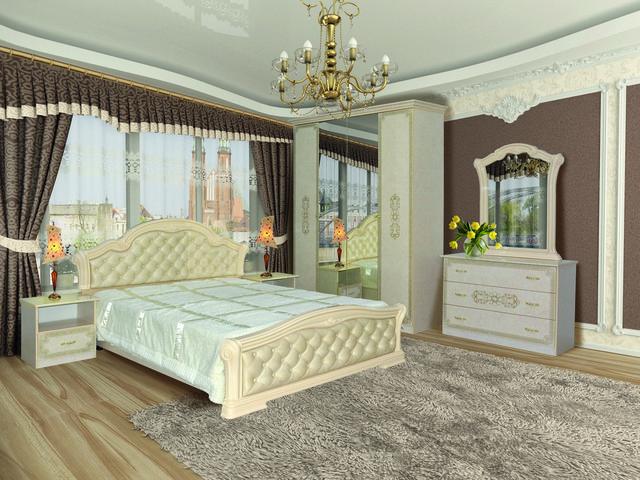 спальня Венеция Нова пино беж