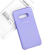 Silicone Case Premium на Samsung S10e  Lilac