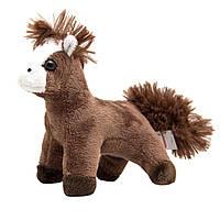 Мягкая игрушка лошадь, коричневый, 13 см (Z1220113-1)
