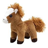 Мягкая игрушка лошадь, светло-коричневый, 13 см (Z1220113-2)