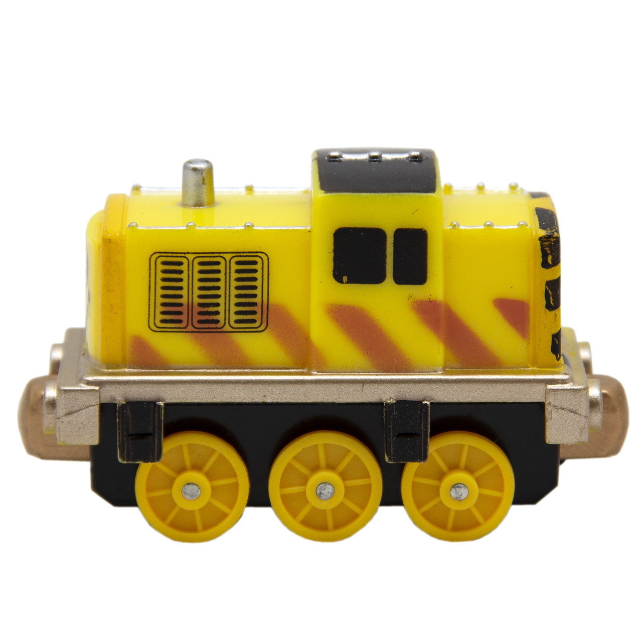 Іграшка заводна - паровоз, помаранчевий, пластик (8068А-3-3)