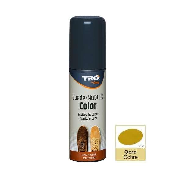 ✅ Крем-краска для замши и нубука цвета охра TRG Nubuck Color, 75 мл