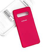 Silicone Case Premium на Samsung S10 Plus Rose
