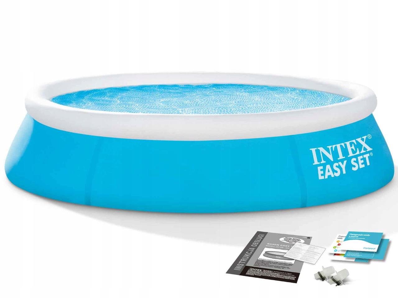 Надувной бассейн Easy Set Pool Intex 28101/54402 183х51 см