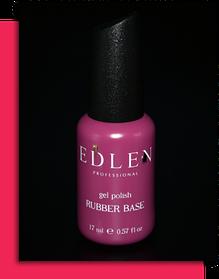 Базове покриття для гель-лаку Edlen Rubber Base Edlen 17 мл