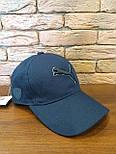 Коттоновая бейсболка с вышивкой спереди и кожаным логотипом сбоку 1207242, фото 6