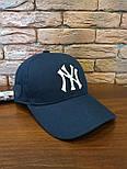 Коттоновая бейсболка с вышивкой спереди и кожаным логотипом сбоку 1207242, фото 8
