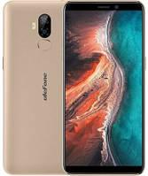 Смартфон UleFone P6000 Plus 3/32Gb Gold, 6350mAh, 8+5/2Мп, 2sim, экран 6'' IPS, 4 ядра, 4G (LTE), фото 1
