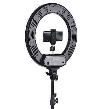Професійна кільцева лампа з штативом R-480C, 48 Вт Сумка , Дзеркало , тримач для телефону