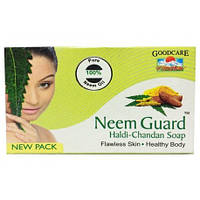 Мыло Ним Гард с нимом, куркумой и сандалом, soap Neem Guard, 75 гр