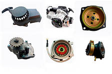 Двигатели, редуктора и топливная система квадроциклов и мототехники