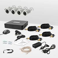 Комплект видеонаблюдения Tecsar AHD 4OUT
