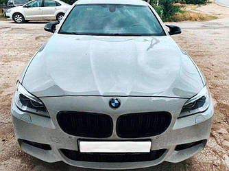 Накладки на зеркала лопухи BMW F10 стиль M5 (под покраску) рестайлинг.
