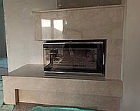Портал каминный (облицовка) из мрамора, фото 1