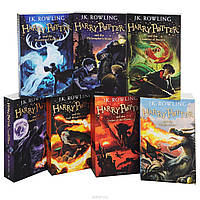 Комплект из 7 книг о Гарри Поттере на английском языке (топ 1000)