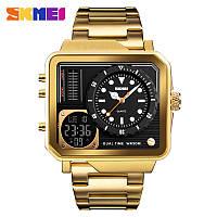 Skmei 1392 золотые мужские спортивные часы, фото 1