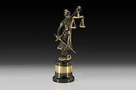 Статуэтка VIRTUS JUSTICE SMALL 26х7.5 см 1030 гр Золотистый (1341)