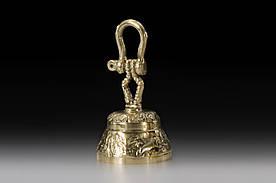 Настольный колокольчик VIRTUS foremast 13х7 см 240 гр Золотистый (1670)