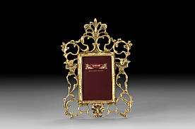Фоторамка VIRTUS CRISTA SMALL 26х19 см 700 гр Золотистый (4788)