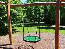 Качели Гнездо Аиста зеленые 100 см