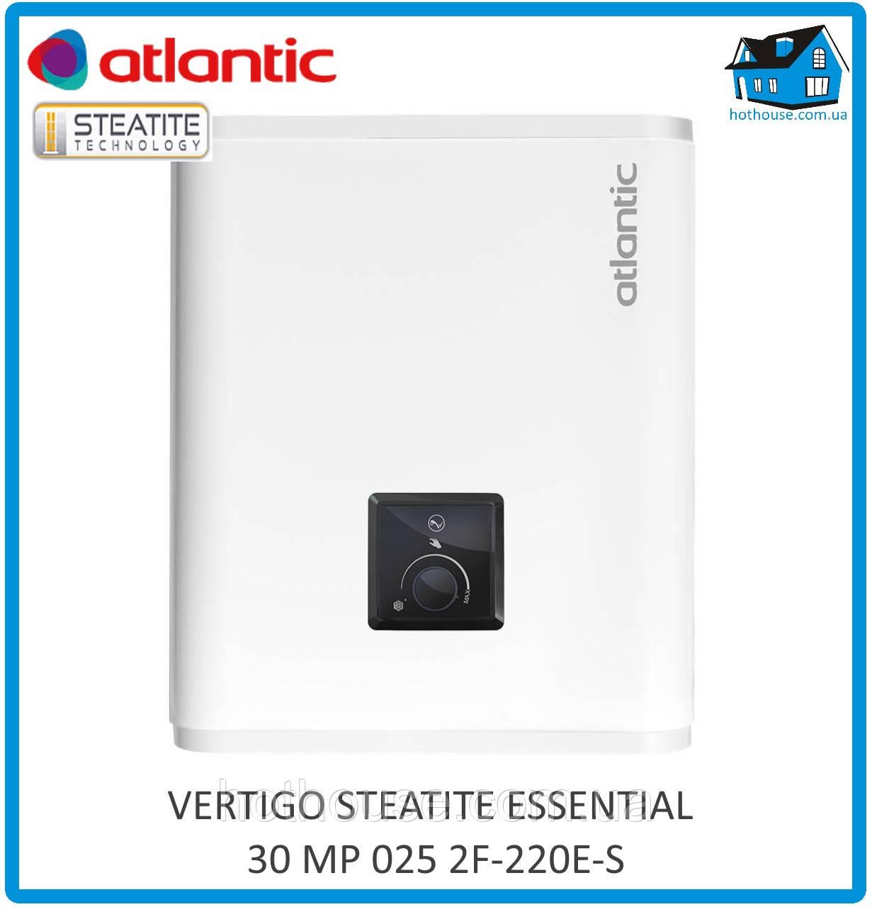 Водонагрівач Atlantic Vertigo Steatite Essential 30 MP-025 2F 220E-S
