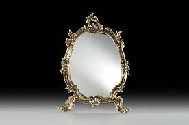 Настольное зеркало VIRTUS Mirror Flowers 27 х 20 см Бронзовый (4876)
