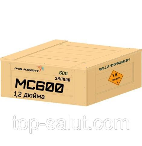 Салютная установка MC600 Maxsem 600 выстрелов