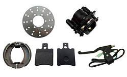 Тормозная система квадроциклов и мототехники