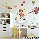 Виниловые наклейки на стену Динозавры, фото 2