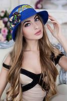 Шляпа женская летняя «Сюзет» (синий)