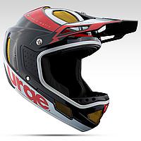 Шлем Urge Down-O-Matic черно-красно-белый - M (57-58cm)