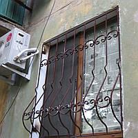Кованые решетки на окна, фото 1
