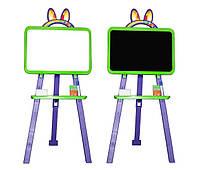 Детский мольберт для рисования Doloni 013777/6 зелено-фиолетовый