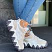 Женские кроссовки с вставками замши и экокожи 4300, фото 2