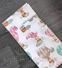Детская пеленка  ПОЛЬСКАЯ бязь  для девочки / для мальчика / универсальные - 80 х 100 см, фото 2
