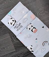Детская пеленка  ПОЛЬСКАЯ бязь  для девочки / для мальчика / универсальные - 80 х 100 см, фото 3
